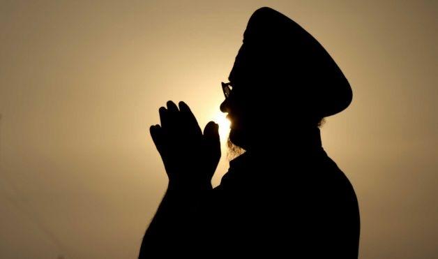 Sikh prayer at amritvela