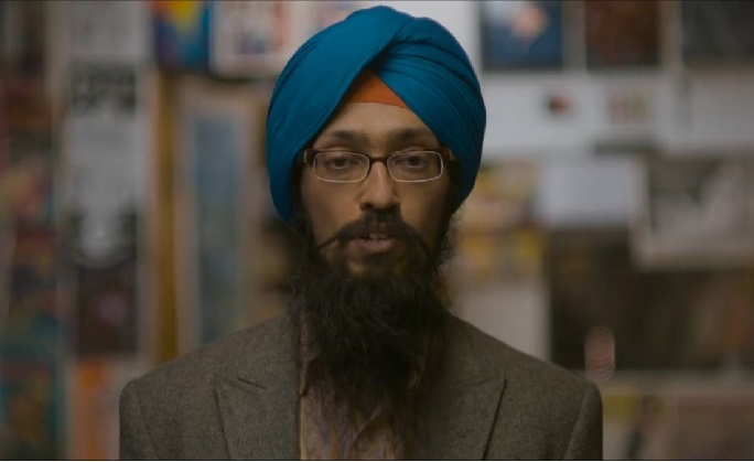 Facebook promotes a Sikh Man But Racist can't take it!!