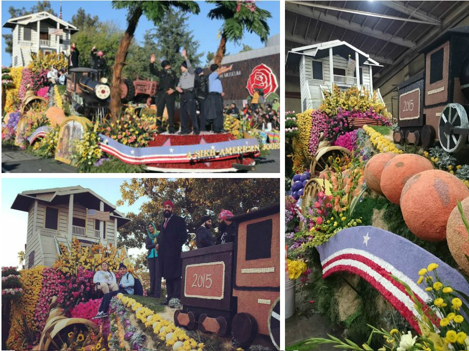 Sikh float in california US