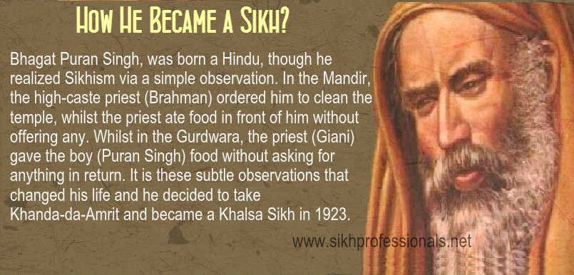 Bhagat Puran Singh Life2 - Eh Janam Tumhare Lekhe (www.sikhprofessionals.net)