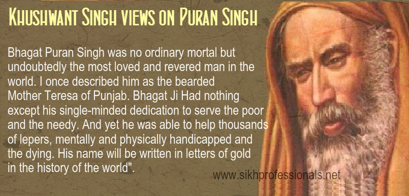Bhagat Puran Singh Life3 - Eh Janam Tumhare Lekhe (www.sikhprofessionals.net)