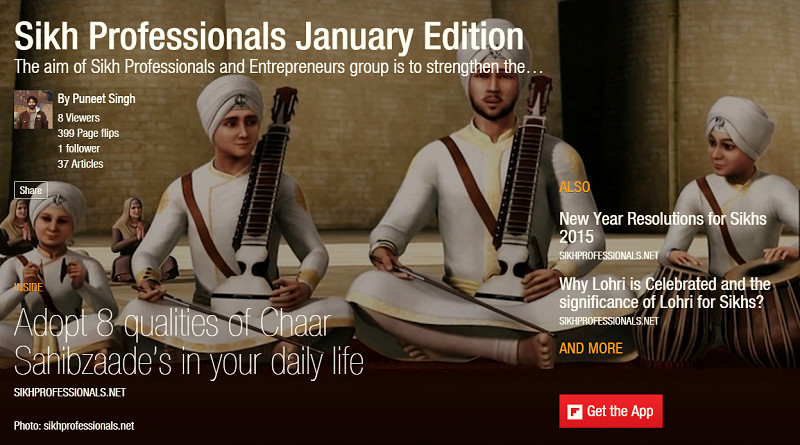 Sikh Professionals January Magazine